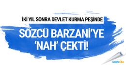 Sözcü gazetesi Barzani'ye NAH çekti