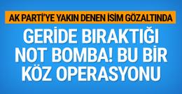 Ömer Turan gözaltısıyla ilgili bomba MİT iddiası