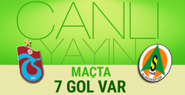 Trabzonspor-Alanyaspor maçı CANLI YAYIN