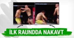 Gökhan Saki ilk UFC maçını nakavtla kazandı