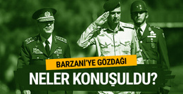 Barzani'ye gözdağı! Genelkurmay başkanları yan yana