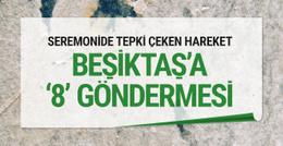 Fenerbahçe-Beşiktaş derbisinde 8 göndermesi!