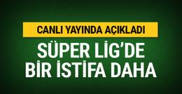 Erkan Sözeri görevinden istifa etti