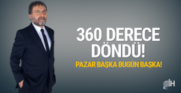 Ahmet Hakan 360 derece döndü Yıldırım 2019'da aday olacak mı?