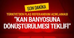 Referandum sonrası Türkiye'den ilk tepki kan banyosu...