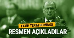 Fatih Terim bombası! Resmen açıkladılar