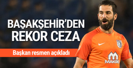 Başakşehir'den Arda Turan'a rekor para cezası