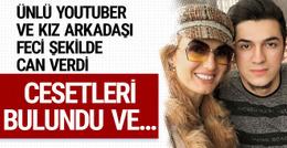 Ünlü Youtuber Emre Özkan ve kız arkadaşı yanarak can verdi