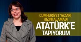 Minik Kırıkkanat: Atatürk'e tapıyorum