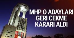 MHP'nin Denizli Büyükşehir Belediyesi için adayı geri çekildi