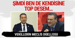 AK Partili Alpay'dan CHP'li vekile: Ben de kendisine top desem...