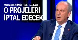 Erdoğan'ın projesine İnce'den itiraz geldi