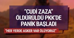 PKK'lıların telsiz konuşmalarında büyük panik