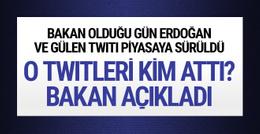 Jülide Sarıeroğlu twitleri gerçek mi bakan açıkladı?