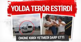 Bursa'da özel halk otobüsü terörü
