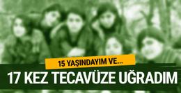 PKK'lı kadın terörist: 15 yaşındayım 17 kez tecavüze uğradım