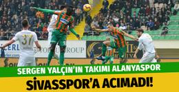 Alanyaspor evinde Sivasspor'a acımadı!