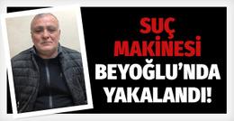 Suç makinesi Beyoğlu'nda yakalandı!
