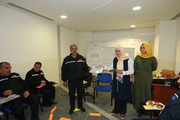Gaziantep'te kadına şiddeti önleme eğitimi