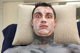 Ronaldo'nun fotoğrafları güldürdü