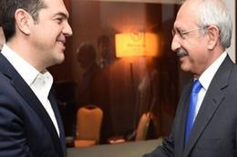 Kılıçdaroğlu ve CHP heyeti Çipras ile görüştü