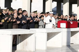 Şehit polis için Kocatepe'de cenaze töreni