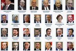 Yeni bakanlar listesi kabinede sürprizler var