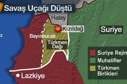 Türkiye Rusya'nın savaş uçağını düşürdü