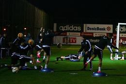 Beşiktaş'ta Skenderbeu hazırlıkları sürüyor