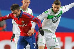Wolfsburg CSKA'yı  ateşe attı!