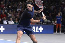 Federer'den Paris'e erken veda