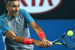 Ünlü tenisçiye kötü oynadın cezası!