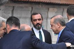 Cuma namazında Erdoğan'ın yanındaki sürpriz isim