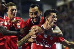 Benfica Kiev'den mutlu dönüyor