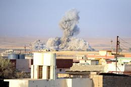 Irak'ta teröristler hükümet binasını bastı!