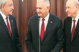 Bahçeli'den üçlü zirvede Kılıçdaroğlu'na sert sözler!