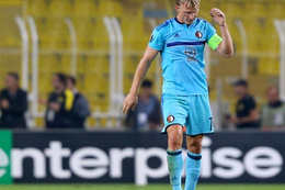 Dirk Kuyt'ın maç sonu talihsizliği