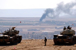 ÖSO ve Türk askeri El Bab'a girdi iddiası!
