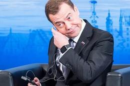 Medvedev'in yüzüne söylediler soğuk duş