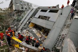 Tayvan 6,4 şiddetindeki depremle sarsıldı