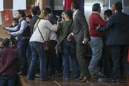 CHP Gençlik Kolları Genel Kurultayı'nda kavga