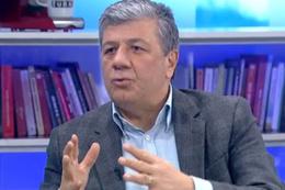 Mustafa Balbay topun ağzında