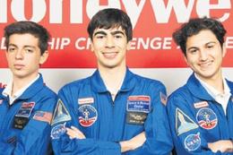 Uzay programında 3 Türk öğrenci