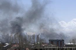 Yüksekova'da TIR dolusu silah ve mühimmat