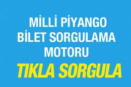 Milli Piyango bilet sorgulama 23 Nisan özel çekilişi