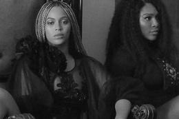 Serena Williams Beyonce'nin Sorry klibinde oynadı!