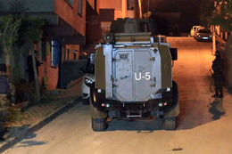 İstanbul'da 4 ilçede terör operasyonu