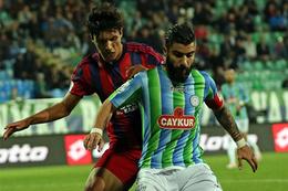 Çaykur Rizespor Mersin İdmanyurdu maçı fotoğrafları