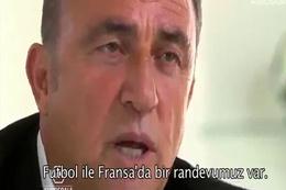 Fatih Terim Fransızca konuştu ortalık yıkıldı
