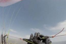 PKK yamaç paraşütçülerini kurşunladı o anlar kamerada